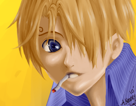 One Piece - Quickie Sanji by AprilPolitano