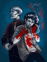 Someone Save Will Graham by shark-bomb