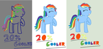 20% Cooler Digitized (Process and Completion) by DuskBelle2310