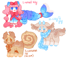 SET PRICED PAYPAL/POINT ADOPTS [closed] by barafrog