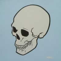 Blue Skull by mondojohn