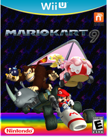 Mario Kart 9 Cover (Improved!) by Galaxy-Afro