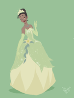 Princess and the frog, Tiana by SofiBS