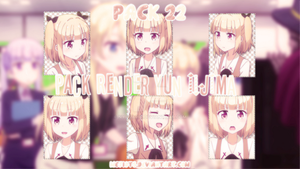 [20-9-2017] [PACKRENDER] - Pack 22: YUN IIJIMA by nyxtarw