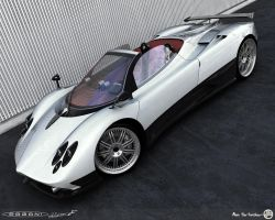 Zonda in white. by AfroAfroguy