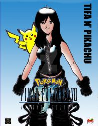 Tifa-chu: Pokemon Fantasy 7 by bentoboxbobby