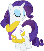 Rarity in a Bathrobe Vector by Kooner-cz