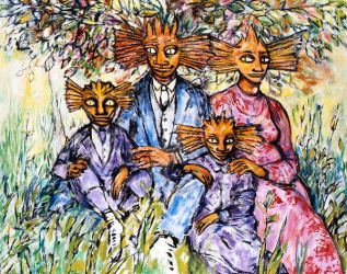 Malingo's Family Portrait Never before seen by CliveBarker