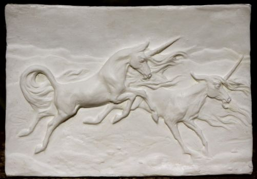Unicorn Relief Resin by SovaeArt