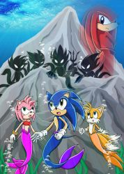 Ship Wreck Sonic Issue 2 cover by nic-sama