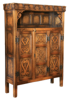 Castle antique cupboard, cut-out version by barefootliam-stock