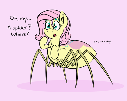 Flutterspider by Glim-Glam