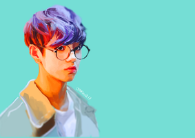 Taehyung Colors by Lynxina