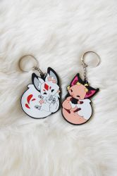 Floral Frolic Rubber Charms by Cinnamoron