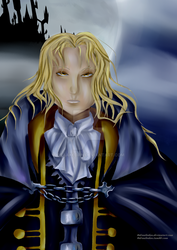 Alucard Castlevania Symphony of the Night by Draakedan