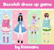 Decololi dress up game by Rinmaru