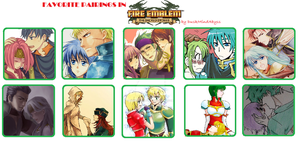 Favorite Pairings in Fire Emblem Sacred Stones by DuskMindAbyss