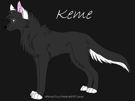 Keme by LoneWolfeh