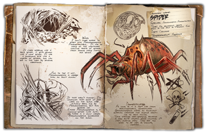 Ark: Survival Evolved Dossiers: Araneo by Dinosuarjosh