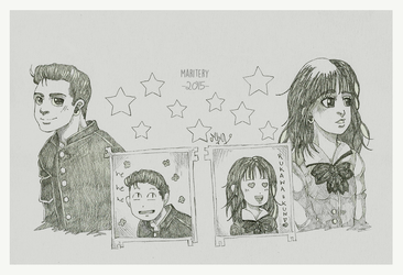 :: Slam Dunk sketches Series 1 :: by maritery-san