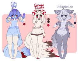 Sia Adopts - w/Mutations (CLOSED) by NotsoJelly