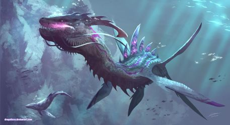 Leviathan Dragon by Dragolisco