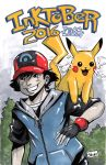 YamaCon 2016 Sketches: Ash and Pikachu by Shono