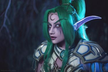 Tyrande Whisperwind - Heroes of the Storm cosplay by Narga-Lifestream