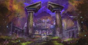 Entrance to Darnassus by behindspace99