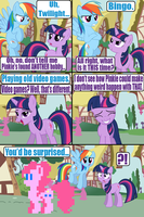 Pinkie's new hobby 2 by Death-Driver-5000