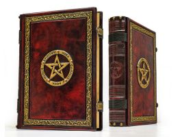 Crimson book of shadows... by alexlibris999