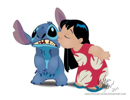 lilo and stitch vector by takeoffyourcolors