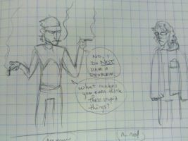 Otacon is a dumb by TheRussianFunk