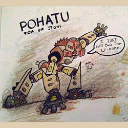 Toa Pohatu by apolloscooter