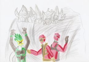 ZM Review - Go Buster vs Gokaiger by Ajustice90