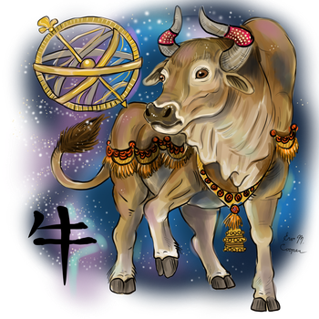 Chinese Year of the Ox by Shadowind