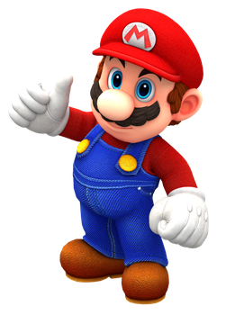 Odyssey Mario Thumb Up Render by Nintega-Dario