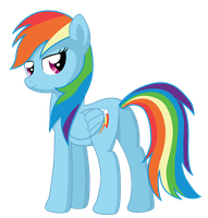 Rainbow Dash, yay. by LikeMike213