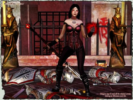 Dragon Age II: Bethany the Blood Mage by Berserker79