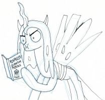 Creepy Chrysalis reading by EwoudCPonies