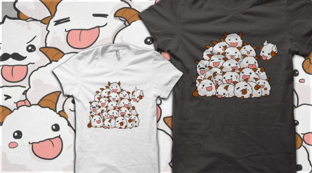 League of Legends PORO BUNCH t-shirt by linkitty
