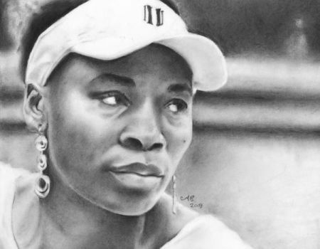Venus Williams by MrBrowne
