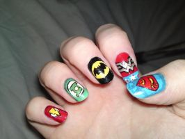 2. JLA Nails by megs2606