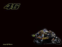 Rossi 800cc wallpaper by AngelyDante