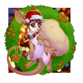 Christm(ouse) by wrensw