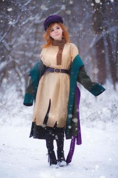 Anastasia - Journey to the Past by fenixfatalist
