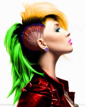 Colored Punk by MaryxaneColor