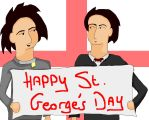 St. George's day by Holsmetree