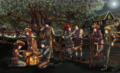 Halloween at Fairy Oak by Dralamy