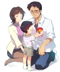 Ikari Family - Father's day 2013 by illust-ringo